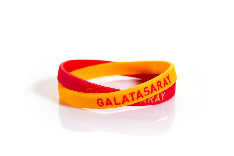 Galatasaray Silicon Bracelet from  at Galatasaray Shop #