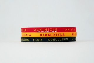 Galatasaray Silicon Bracelets from  at Galatasaray Shop #